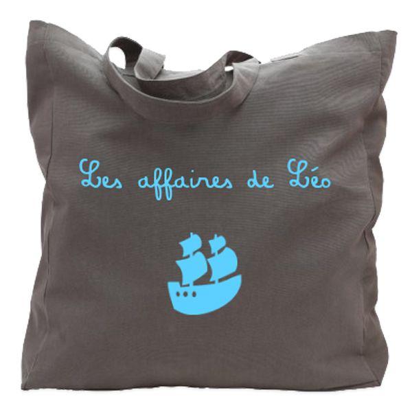 sac cabas personnalis avec le texte de votre choix amikado. Black Bedroom Furniture Sets. Home Design Ideas