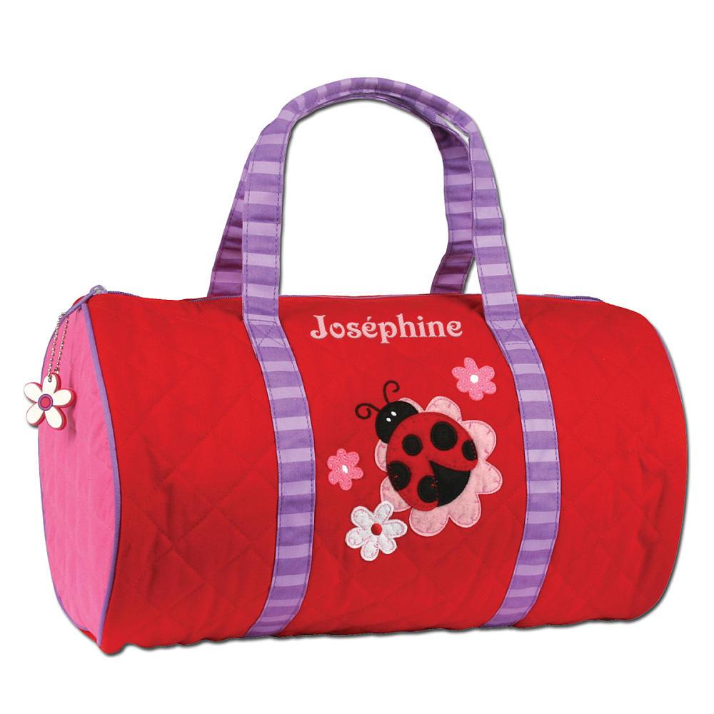 sac de loisir cylindrique stephen joseph brod pr nom. Black Bedroom Furniture Sets. Home Design Ideas