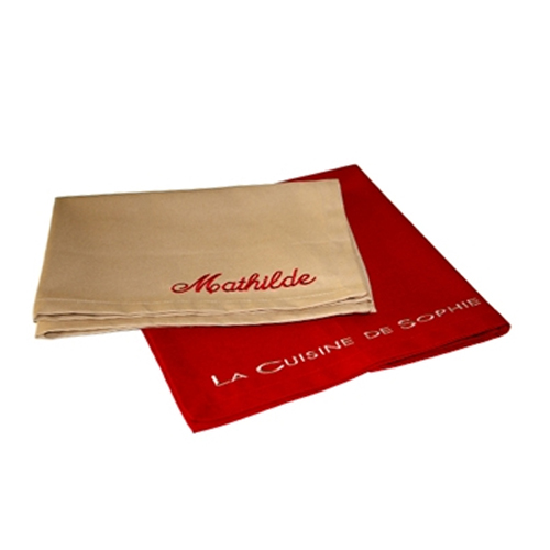 Set de table brod texte une id e de cadeau original for Set de table original