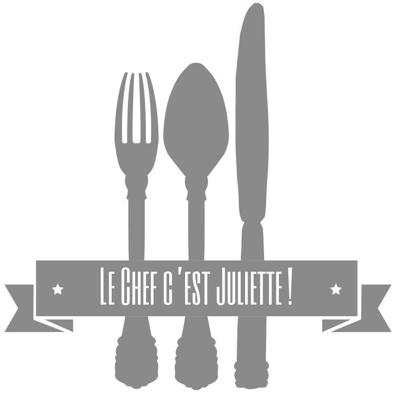 Stickers couverts personnalis une id e de cadeau - Cadeau cuisine original ...