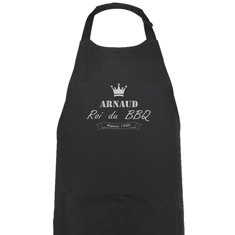 Tablier brod d 39 un label au pr nom amikado - Cadeau jardinage homme ...