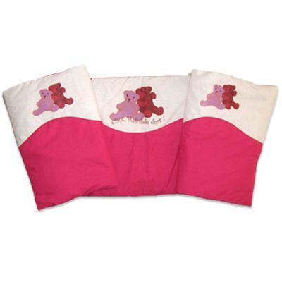 tour de lit personnalis oursons une id e de cadeau original amikado. Black Bedroom Furniture Sets. Home Design Ideas