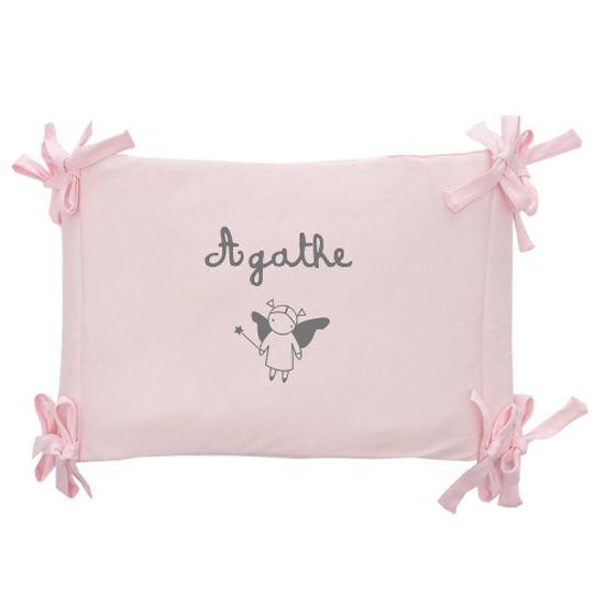 Tour de lit coton bio b b personnalis avec son pr nom amikado - Tour de lit coton bio ...
