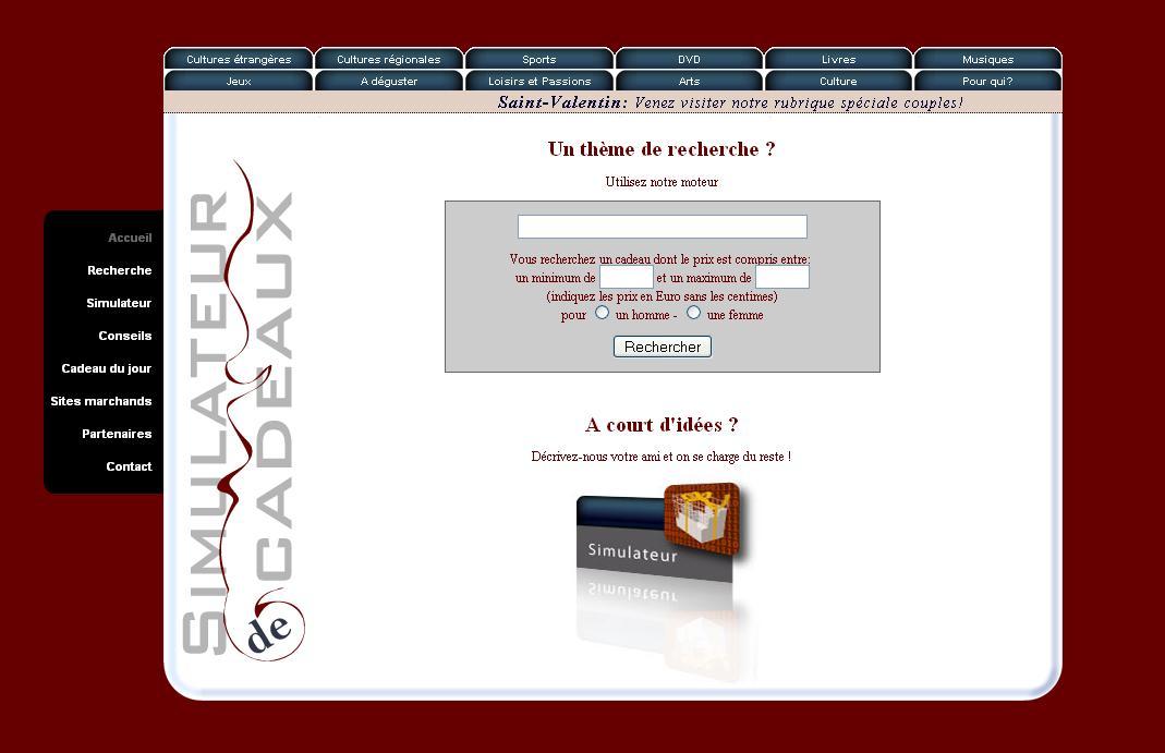 Octobre 2010 blog des id es cadeaux part 2 for Idee de site web original