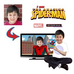 dvd personnalisé spiderman