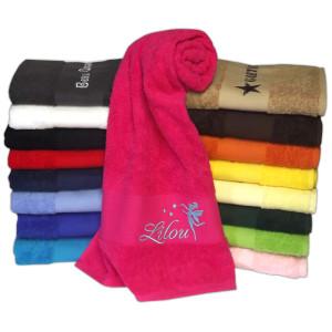 serviette-personnalisee-couleurs